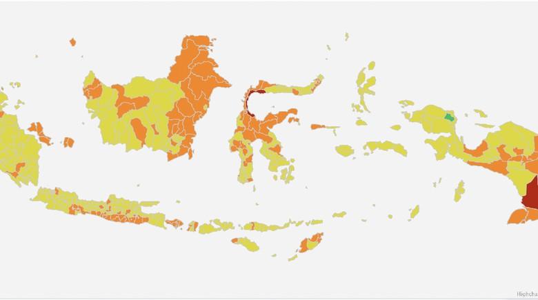 Zona merah per 5 September 2021