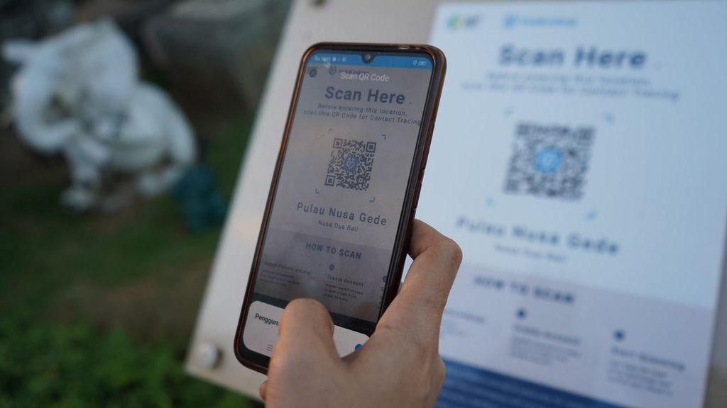 Aplikasi PeduliLindungi Akan Diuji Coba di 6 Pasar Tradisional Ini