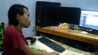 Ardy Penyandang Difabel Jago Coding dari Batang