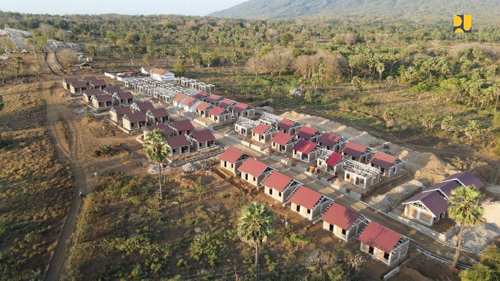 Begini Penampakan Rumah untuk Korban Badai NTT