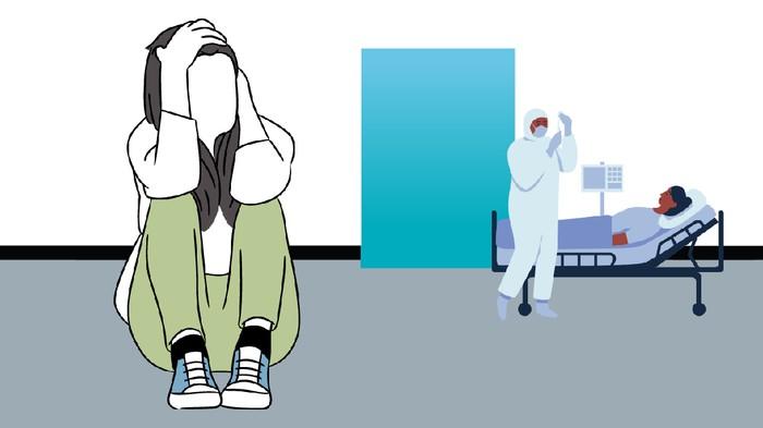 depresi ditinggal ibu mati karena covid