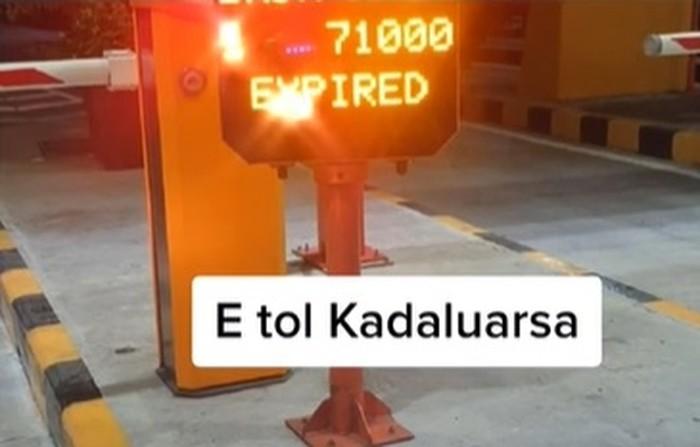 e-Toll Kedaluwarsa