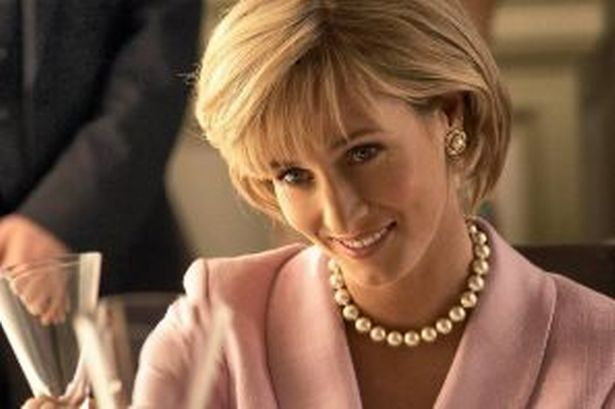Genevieve O'Reilly kala tampil sebagai Putri Diana