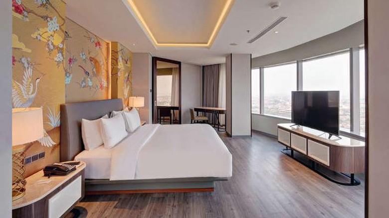 Hotel Mercure Gatot Subroto.