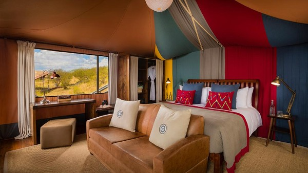 Ada 12 tenda mewah yang ditawarkan. Di setiap tenda, wisatawan akan menemukan kamar mandi en suite, tempat tidur yang nyaman, tempat bersantai hingga bak untuk berendam kaki.
