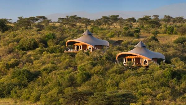 Namanya Mahali Mzuri. Berlokasi di Orale Motorogy Concervacy, kamp ini menjadi tujuan wajib wisatawan mancanegara.