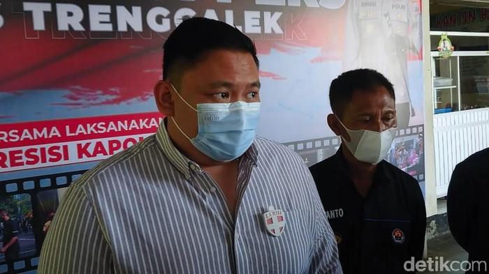 Kasat Reskrim Polres Trenggalek AKP Arief Rizky Wicaksana