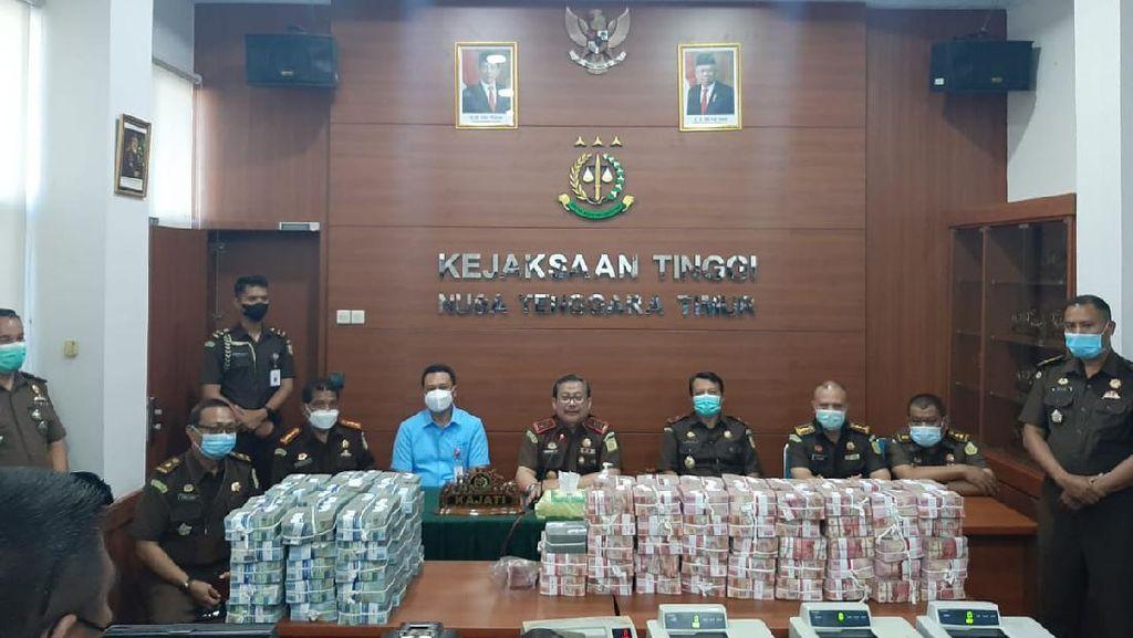 Jaksa Setor Rp 11,6 M dari Kasus Kredit Macet Bank NTT ke Negara
