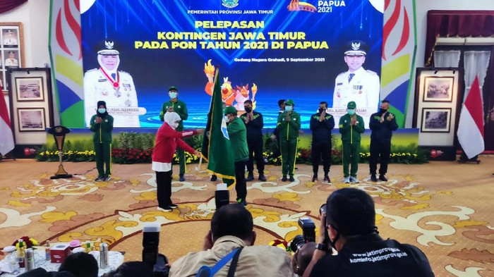 KONI Jawa Timur Targetkan 136 Medali Emas di PON XX Papua