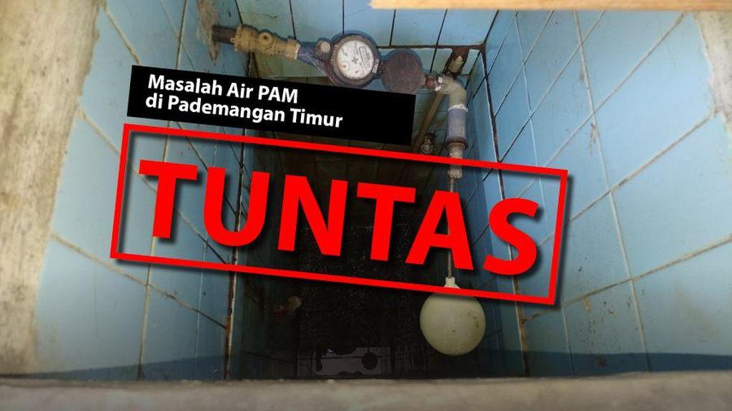 Before-After Perbaikan Air PAM Mampet Gegara Proyek Got Pademangan Timur