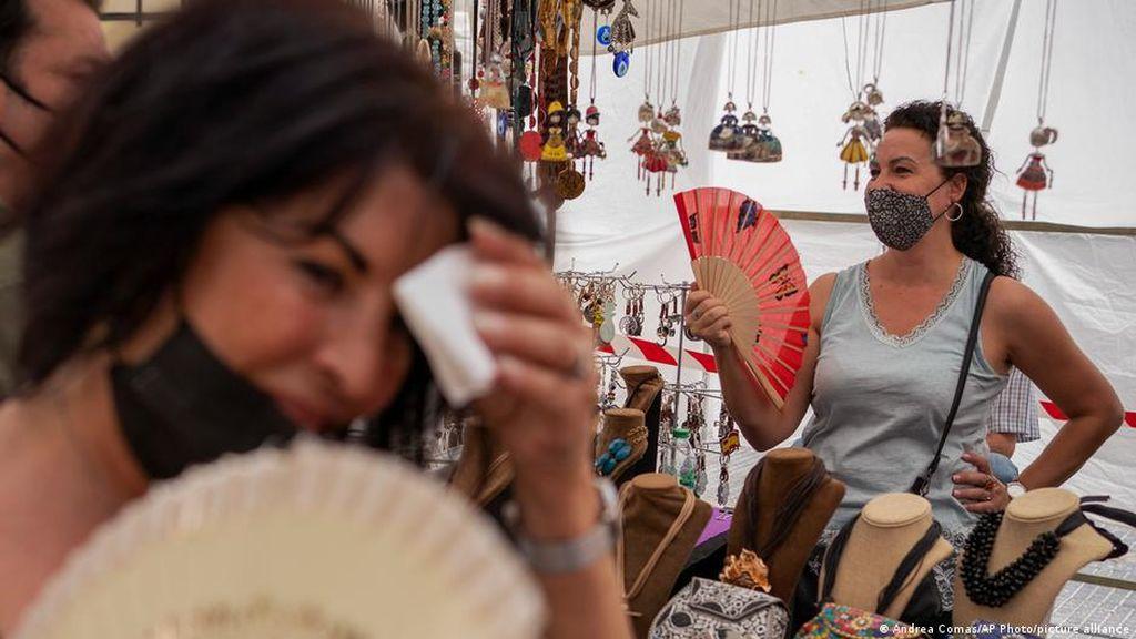Musim Panas di Eropa Catat Rekor, Paus Fransiskus Kirim Es Krim ke Rutan