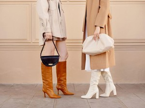 Yuk, Tampil On Point dengan Padu Padan Hijab dan Boots!