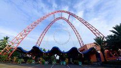 Akhir Pekan, Warga Antusias Olahraga di Ancol dan Rekreasi ke Dufan