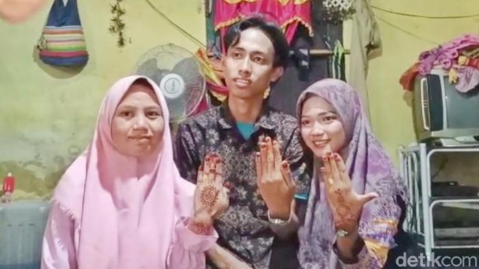 Pria di Sumsel nikahi 2 perempuan sekaligus (Dok istimewa)