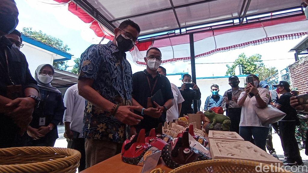 Sandiaga Uno di Cirebon