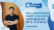 Peluang Bisnis Fried Chicken Gerobakan Rp 5 Juta