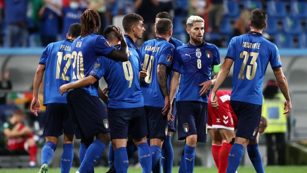 Italia Pesta Gol ke Gawang Lithuania