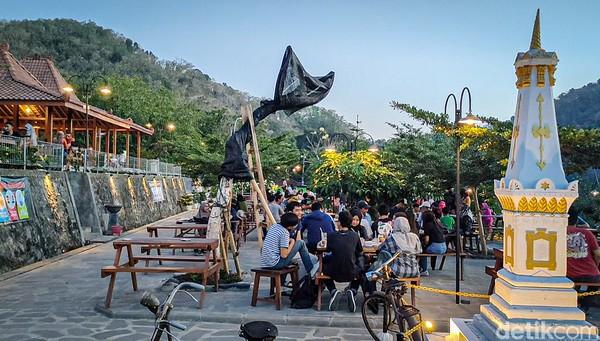 Suasana Yogyakarta dengan pemandangan hijau, bisa jadi pilihanmu menghabiskan akhir pekan. (Jalu Rahman Dewantara /detikcom)