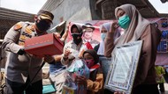 280 Pelajar Korban COVID-19 Mojokerto Dapat Seragam Sekolah Gratis