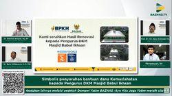 Lewat BAZNAS, BPKH Bantu Renovasi-Pengadaan Sarana Masjid di Palembang