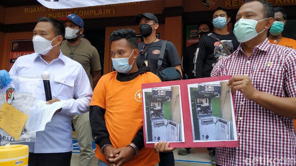 Dipergoki Bobol ATM di Bali Saat Subuh, Pria Ini Pura-pura Gila