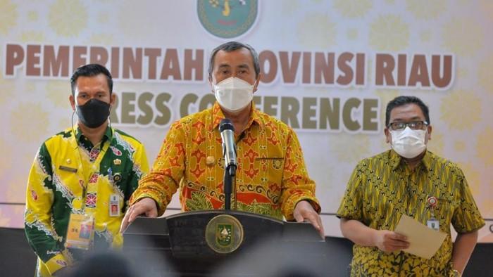 Gubernur Riau, Syamsuar (Raja-detikcom)