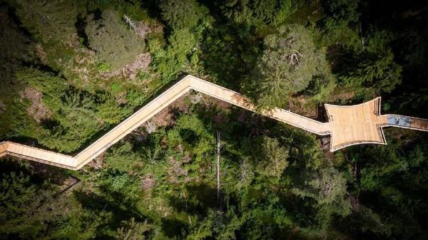 Jalan setapak terpanjang di dunia itu bernama Senda dil Dragun. Jika diterjemahkan, Senda dil Dragun berarti Jalan Naga. (FilmLaax)