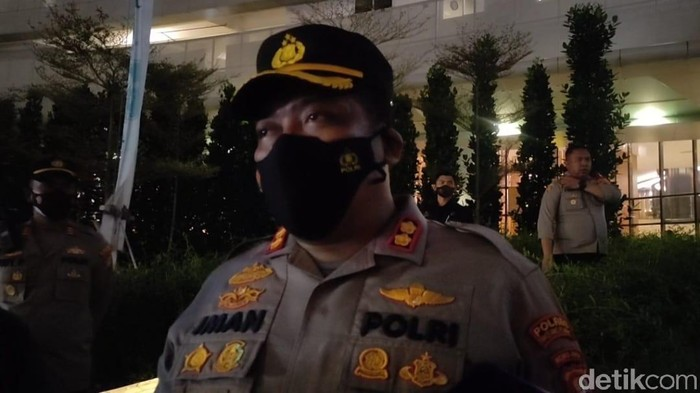 Kapolres Tangsel AKBP Iman Imanuddin (Rakha Arlyanto Darmawan/detikcom)