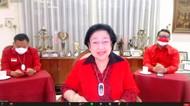 Senyum Megawati Usai Diterpa Hoax Ucapan Dukacita