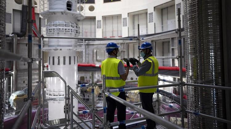 Proyek reaktor fusi International Thermonuclear Experimental Reactor (ITER) tengah digarap di Prancis. Proyek ini disebut sebagai proyek nuklir terbesar dunia.