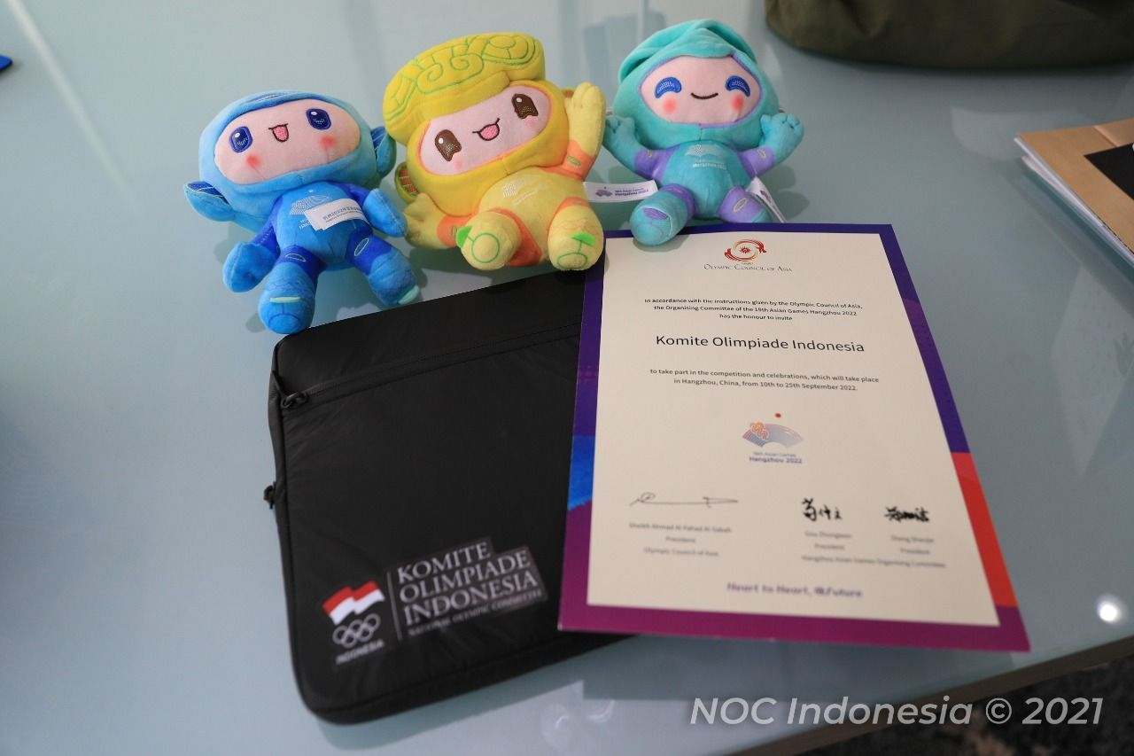 NOC Indonesia Bersiap Menuju Asian Games 2022 di Hangzhou