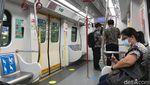 Penampakan LRT Jakarta saat PPKM, Asli Sepi Banget!
