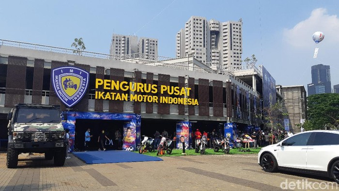 Peresmian Kantor Baru IMI di wilayah Gelora Bung Karno