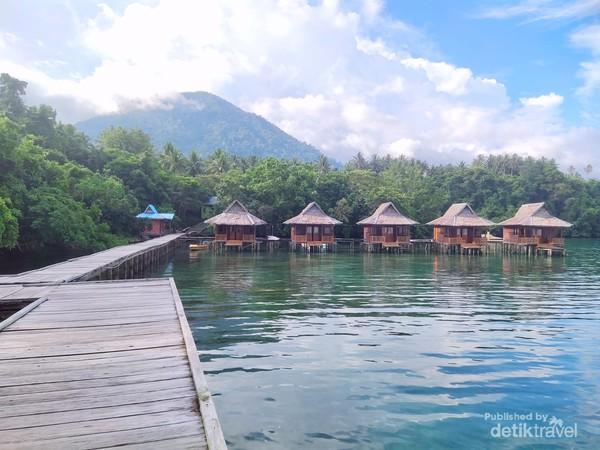 Tanjung Rappa Pelangi di Lereng Gunung Jailolo