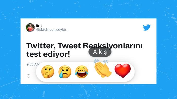 Twitter uji coba fitur emoji reactions