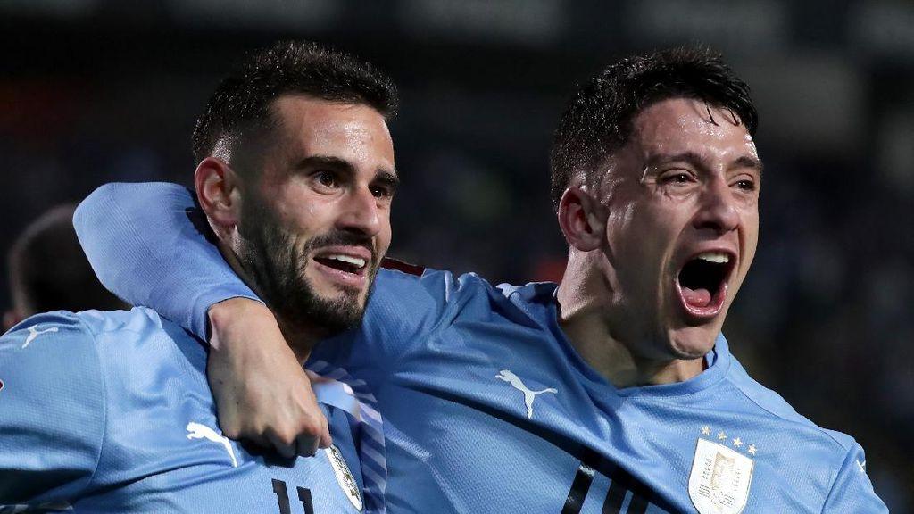 Kualifikasi Piala Dunia 2022: Uruguay dan Paraguay Petik Kemenangan