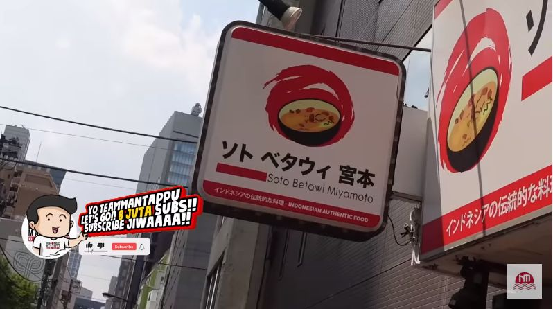 Warung Soto Betawi Otentik Hadir di Jepang, Harganya Rp 155 Ribu