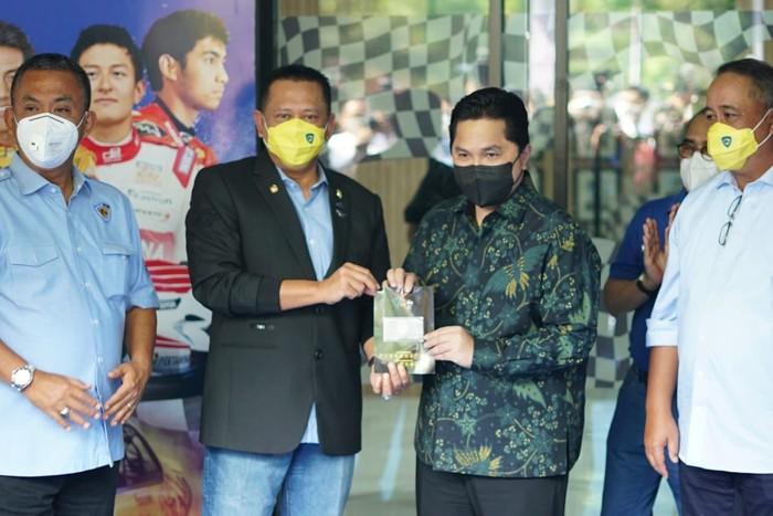 Bambang Soesatyo & Erick Thohir