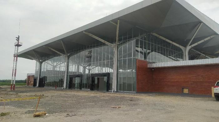 Kondisi terminal bandara udara Ngloram, Cepu, Kabupaten Blora