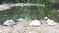 Belum Usai soal Ribuan Ikan Mati, Sungai Dengkeng Kini Penuh Sampah