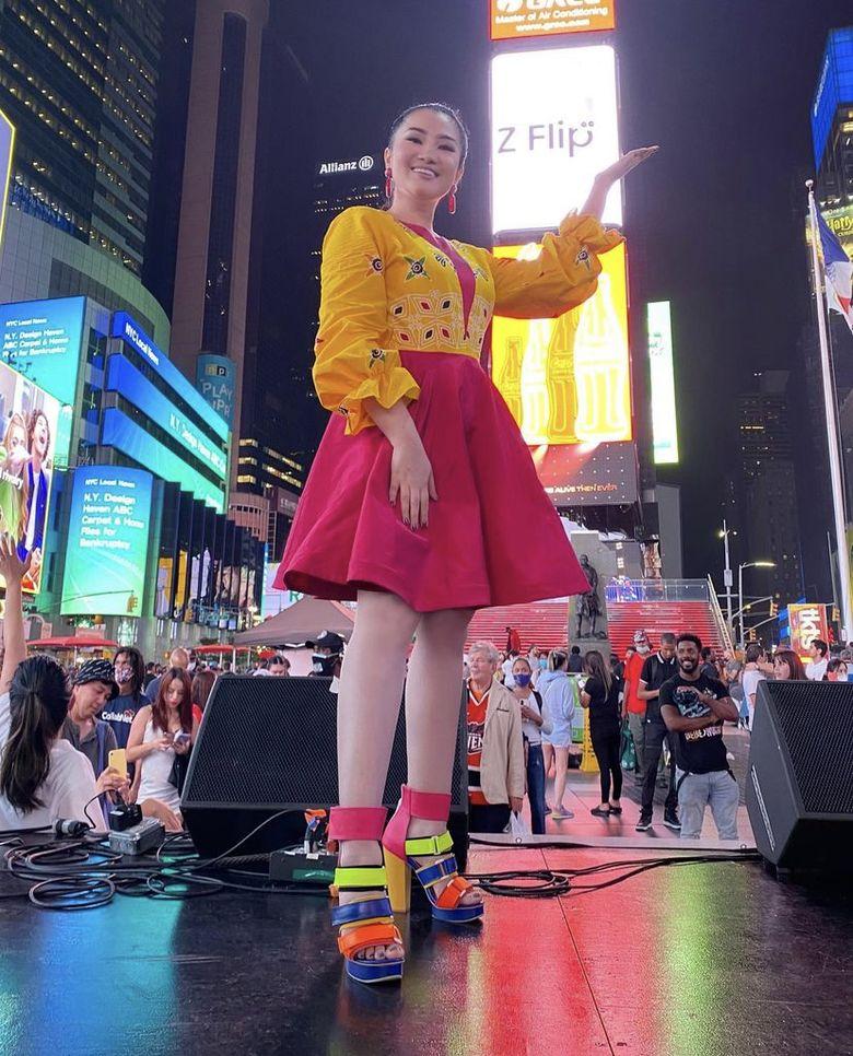 Fitri Carlina Sukses Dangdutan dan Kenalkan Kopi Indonesia di New York