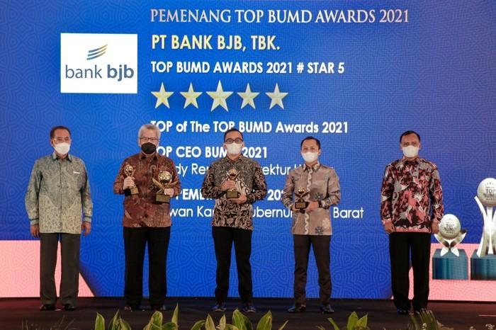 Penghargaan bank bjb