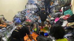 1 Keluarga Penjaga Gudang di Kalsel Ditemukan Tewas Tertimbun Pakaian