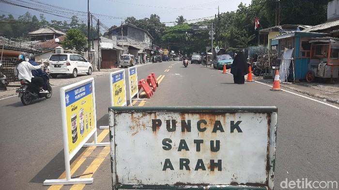 Sistem Satu Arah di Puncak Bogor