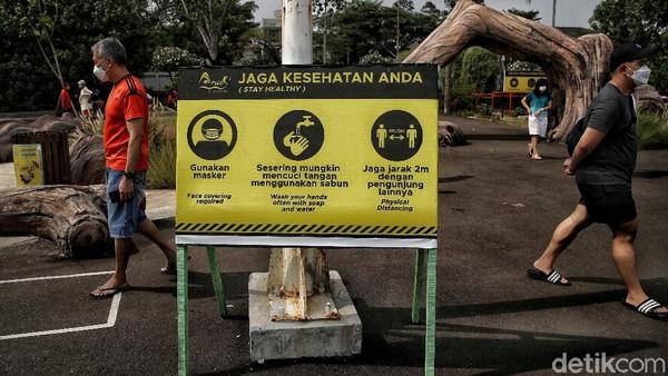 Uji coba tempat wisata itu juga sesuai Instruksi Menteri Dalam Negeri Nomor 39 Tahun 2021 tentang PPKM Level 4, 3 dan 2 di Jawa dan Bali berlaku 7-13 September 2021.