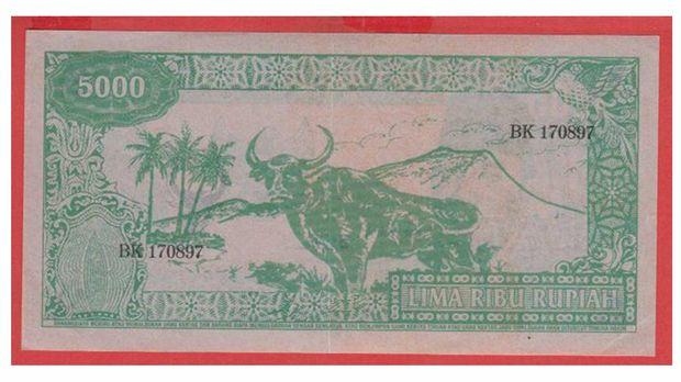 Uang Kertas 5.000 Rupiah. (Dok: Gallery Bank Indonesia)