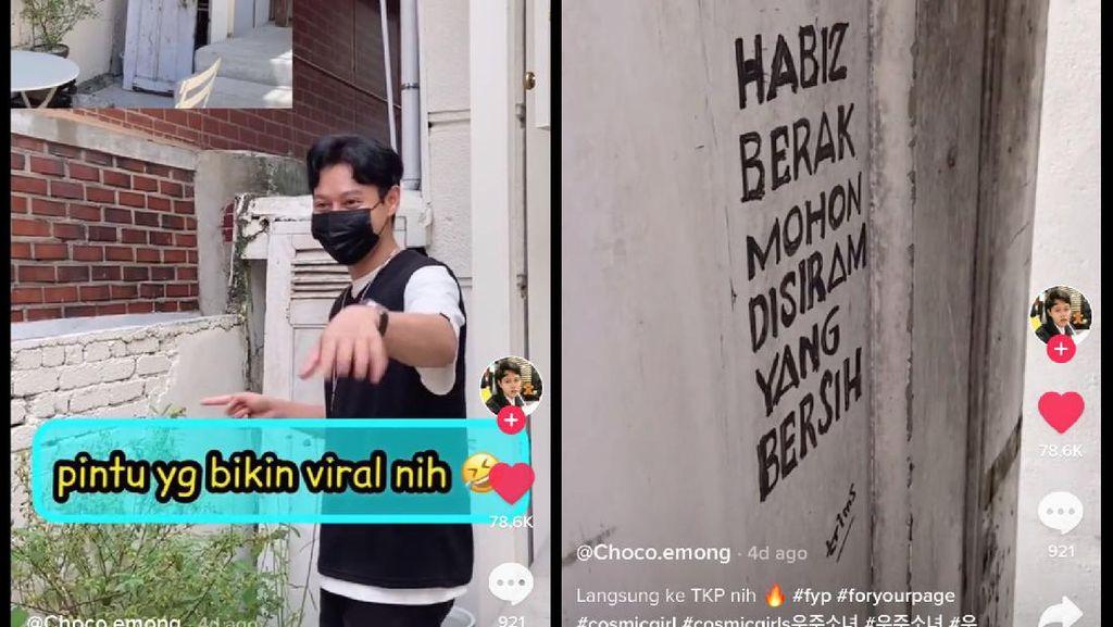 Viral Idol KPop Unggah Foto Pintu Kafe Habis BAB Disiram, Ternyata Ini Faktanya