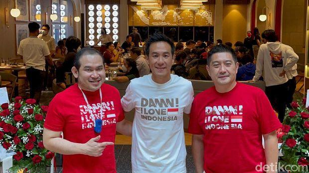 Daniel Mananta buka cabang restoran barunya.