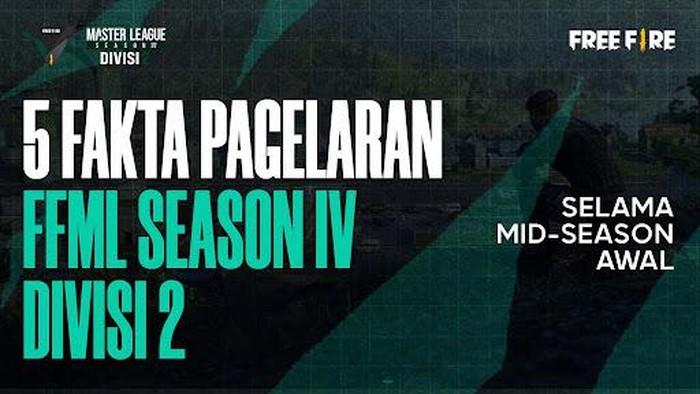 5 Fakta Pergelaran Free Fire Master League Season IV Divisi 2