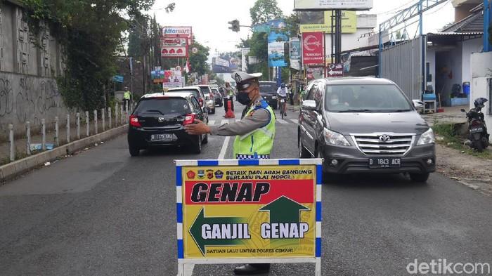 Ganjil genap di Bandung Barat.